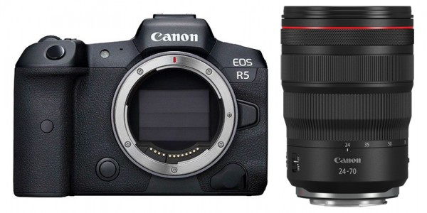 Canon EOS R5 + RF 24-70mm 2.8 L IS USM