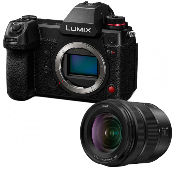 Panasonic Lumix DC-S1H + Lumix S 20-60mm 3.5-5.6