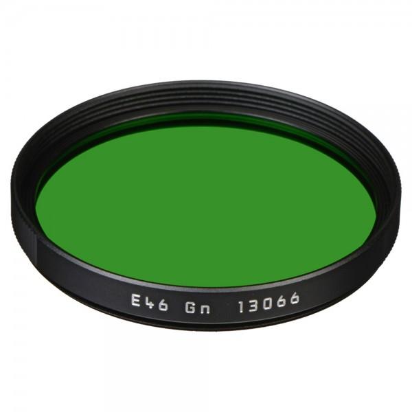 Leica Filter Grün E46 schwarz 13066