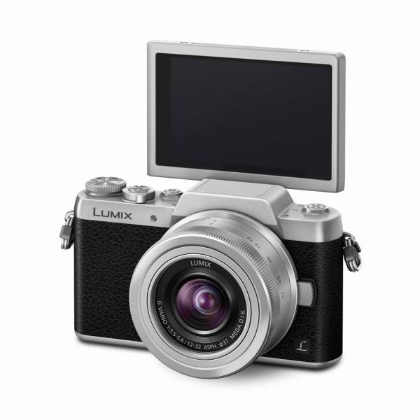Panasonic Lumix DMC-GF7 schwarz + 12-32mm silber