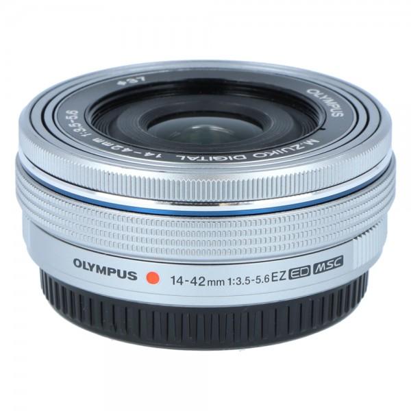 Olympus M.Zuiko Digital ED 14-42mm 3.5-5.6 EZ silber Messeware *LBME7