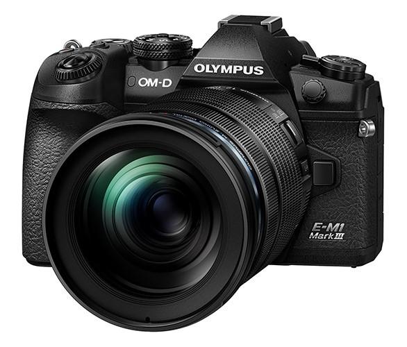 Olympus OM-D E-M1 Mark III schwarz + 12-100mm 4.0 IS PRO