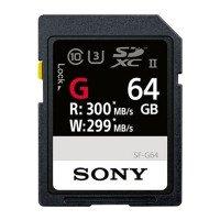 Sony 64GB SDXC Class10 UHS-II R300