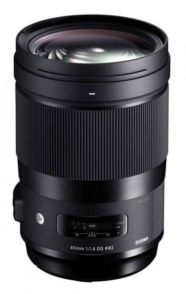 Sigma A 40mm 1.4 DG HSM für Nikon