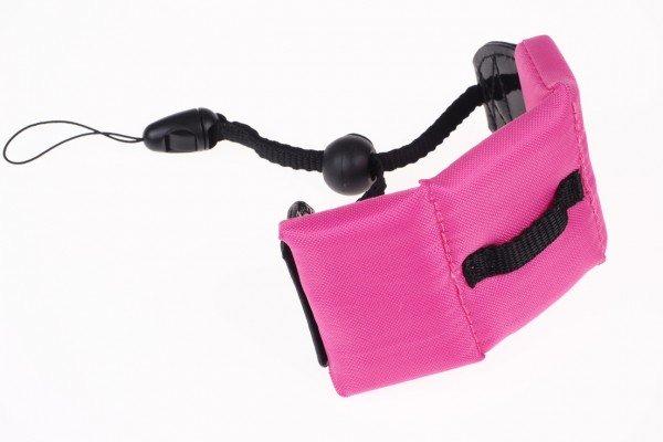 Waterproof schwimmende Handschlaufe für Digitalkameras pink