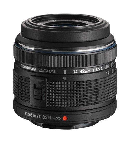 Olympus M.Zuiko Digital 14-42mm 3.5-5.6 II R schwarz
