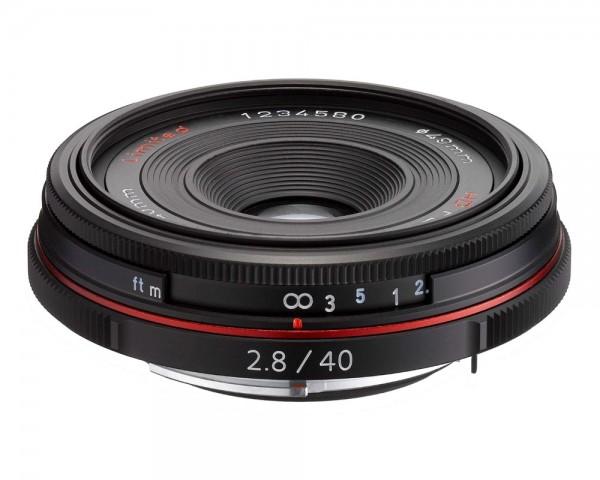 Pentax HD PENTAX-DA 40mm 2.8 Limited, wie neu, schwarz * 6772