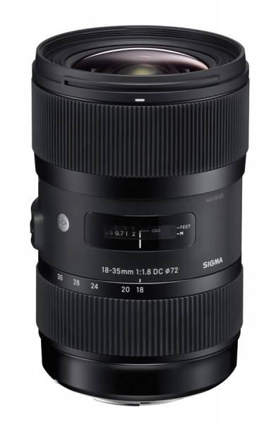 Sigma A 18-35mm 1.8 DC HSM für Sony A-Mount