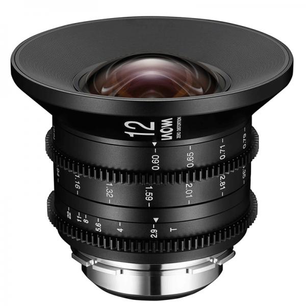 Laowa 12mm t/2.9 Zero-D Cine für Canon EF