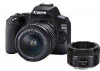 Canon EOS 250D + EF-S 18-55mm 4.0-5.6 IS STM + EF 50mm 1.8 STM