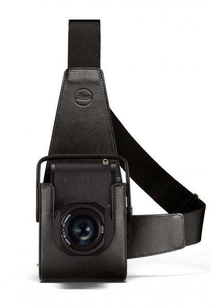 Leica Holster Q2 schwarz 19577