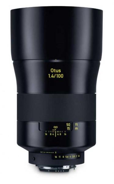 ZEISS Otus 100mm 1.4 ZF.2 für Nikon