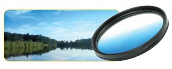 Dörr Farbverlauf Filter blau 37mm