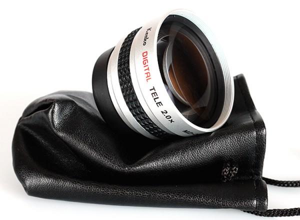 Kenko Telekonverter 2.0 für Olympus 14-42mm II R ,14-42mm EZ, 45mm 1.8