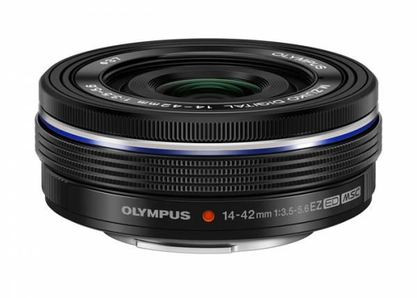 Olympus M.Zuiko Digital ED 14-42mm 3.5-5.6 EZ schwarz Einzelstück