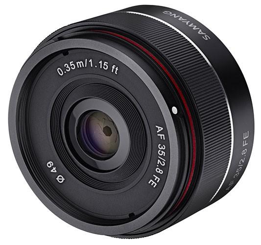 Samyang AF 35mm 2.8 FE für Sony E-Mount