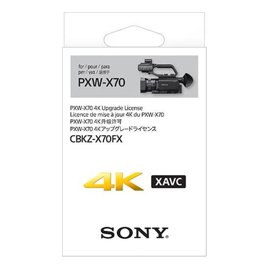 Sony CBKZ-X70FX 4K-Upgrade für PXW-X70