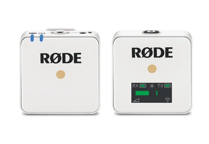 Rode Wireless GO drahtloses Mikrofonsystem weiß