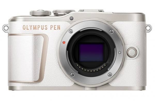Olympus PEN E-PL10 weiß Gehäuse