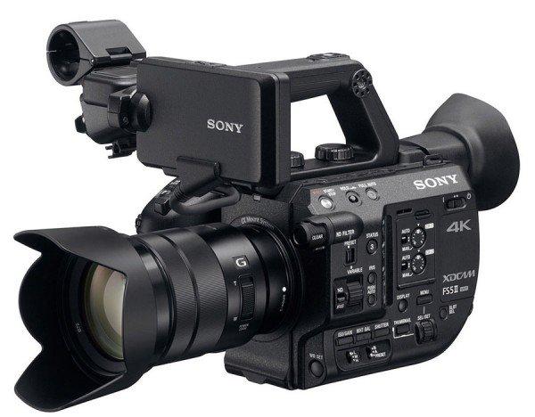 Sony PXW-FS5 II + E PZ 18-105mm 4.0 G OSS PZ