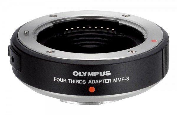 Olympus Adapter MMF-3 schwarz Four Thirds auf MFT