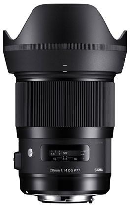 Sigma Art 28mm 1.4 DG HSM für Sony E-Mount