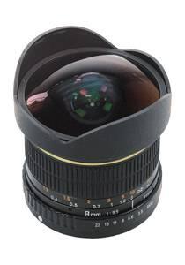 Dörr 8mm 3.5 Fisheye für Nikon F
