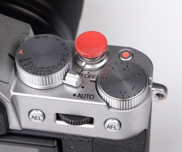 Soft Release Button 12mm rot für Leica & Fujifilm