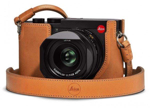 Leica Protektor Q2 braun 19567