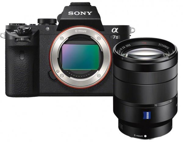 Sony Alpha 7 II + FE 24-70mm 4.0 Vario-Tessar T* ZA OSS