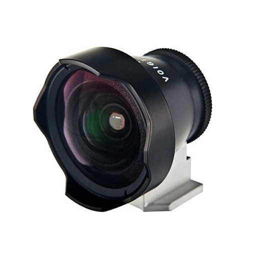 Voigtländer Sucher 12mm II rund schwarz