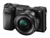 Sony Alpha 6000 schwarz + PZ 16-50mm 3.5-5.6 OSS