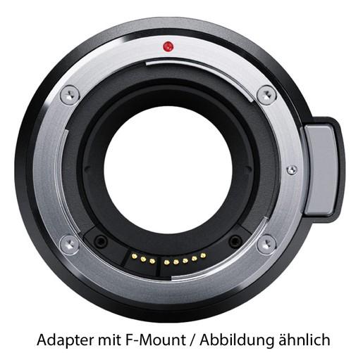 Blackmagic URSA Mini Pro F Mount-Adapter