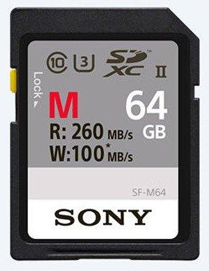 Sony SDXC-Karte 64GB M-Type UHS-II U3 260MB/s