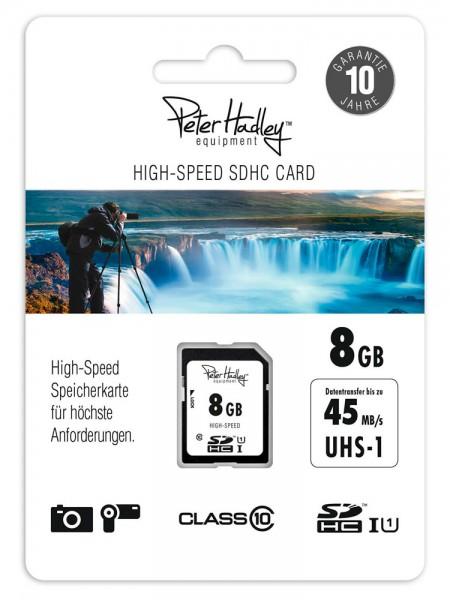 Peter Hadley SDHC-Karte 8GB 12/45MB/s