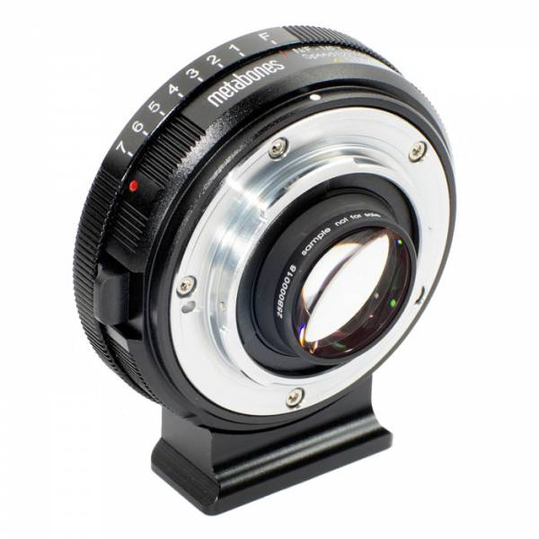Metabones Adapter Nikon G an MFT T Speed Booster XL 0.64x