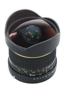 Dörr 8mm 3.5 Fisheye für Sony A-Mount