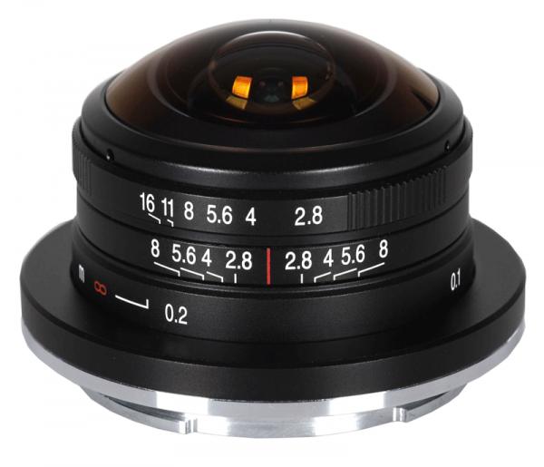 Laowa 4mm 2.8 Fisheye für Canon EF-M