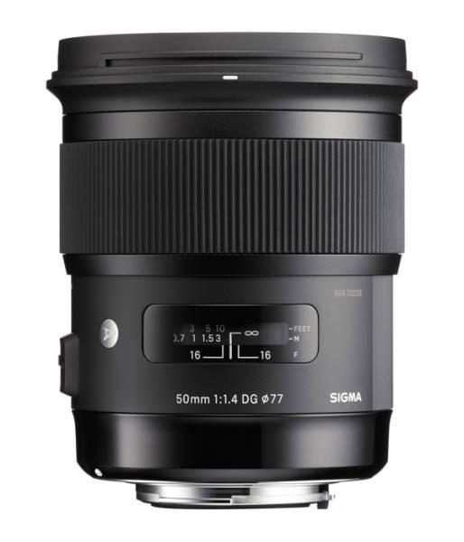 Sigma Art 50mm 1.4 DG HSM für Nikon