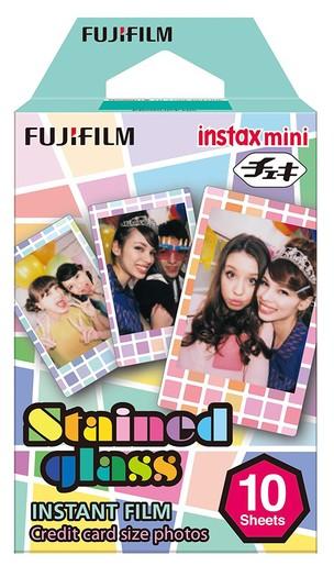 Fuji Instax Mini Star WW 1 Sofortbildfilm Color Stained Glass