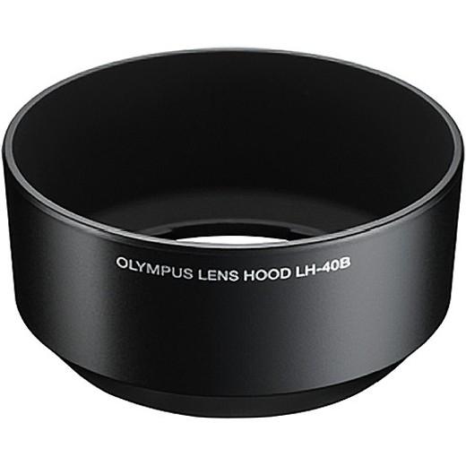 Olympus LH-40B Gegenlichtblende schwarz für M. Zuiko 45mm 1.8