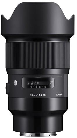 Sigma Art 20mm 1.4 DG HSM für Sony E-Mount