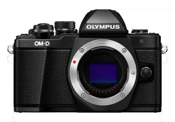 Olympus OM-D E-M10 Mark II schwarz Gehäuse