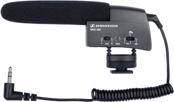 Sennheiser MKE400 Video Richtmikrofon