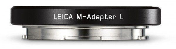 Leica M-Adapter L schwarz für das TL/ CL & SL-System 18771