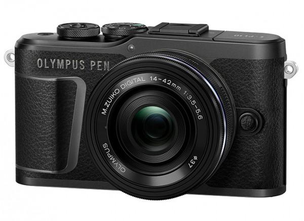 Olympus PEN E-PL10 schwarz + 14-42mm 3.5-5.6 EZ schwarz