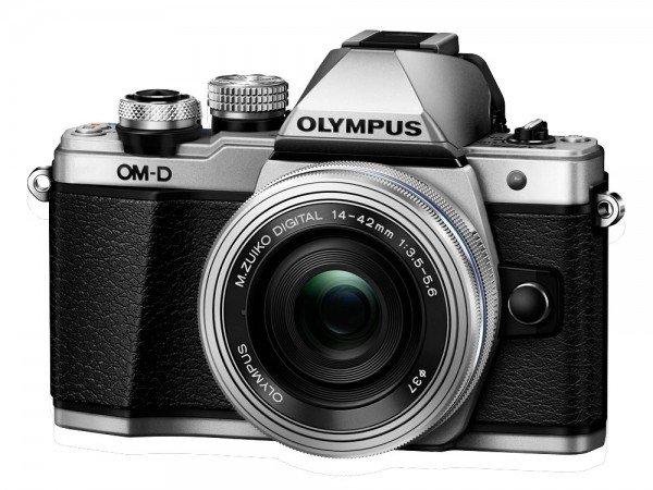Olympus OM-D E-M10 Mark II silber + 14-42mm EZ silber