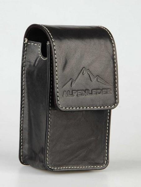 Alpenleder Kameraetui kompakt ebenholz