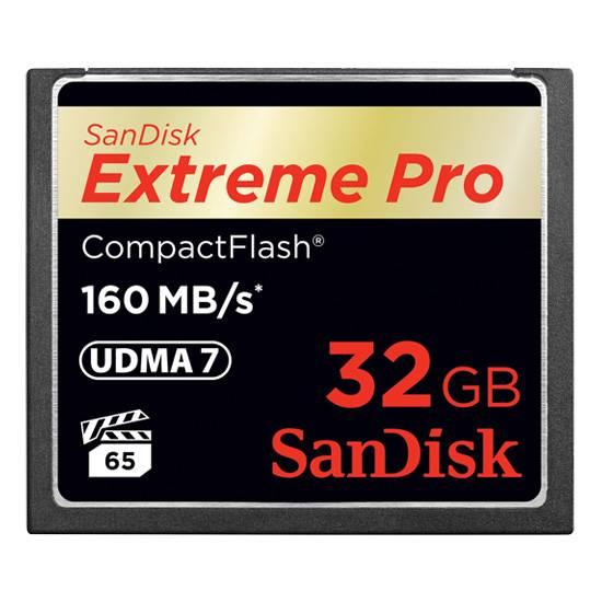 SanDisk ExtremePro CF 32GB 160MB/s