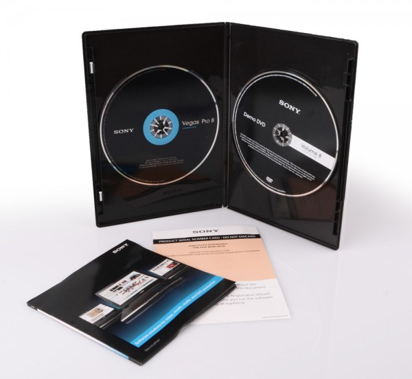 Sony Vegas Pro 8 Professionelles Videoschnittprogramm